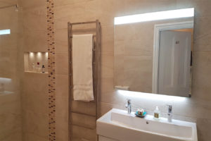 Level access wet room Romsey