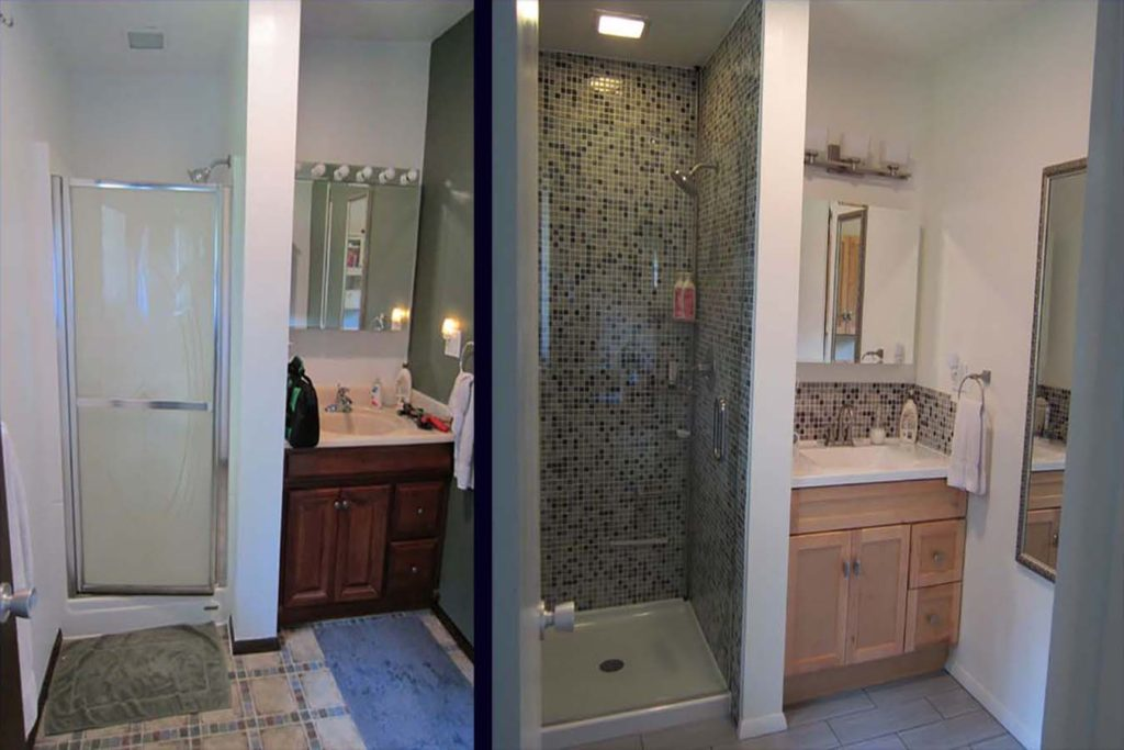 Before and After in Fair Oak