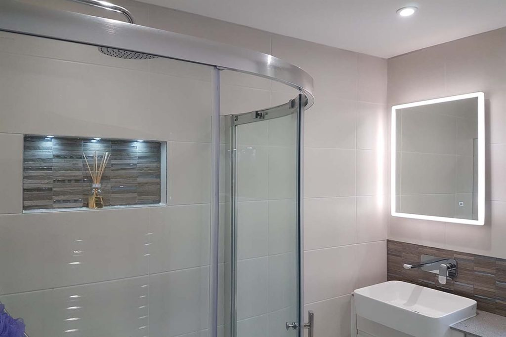 low level shower room romsey