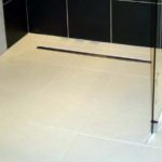walk in wet room shower former